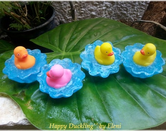 Happy Duckling glycerine soap by Eleni