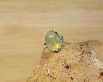 Archangel Michael Sigil Ring Adjustable Silver