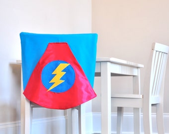 Superhero Cape Chair Cover
