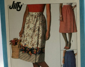 Simplicity 8336 Ladies Skirt Sewing Pattern - Vintage - New - Uncut - Size 14 - 16