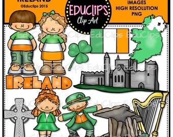 Ireland Clip Art Bundle