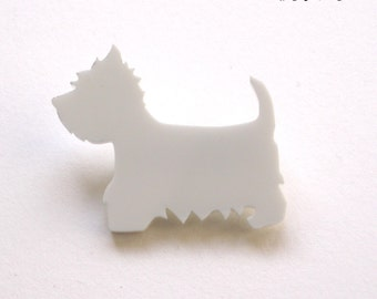 West Highland White Terrier brooch for dogs lovers Westie