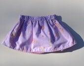 Reversible Skirt : 100% organic cotton sateen