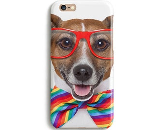 Gay pride dog iPhone 6 case iPhone 6s case iPhone 6 plus case iPhone SE case iPhone 5c case iphone 5 case 1P137A
