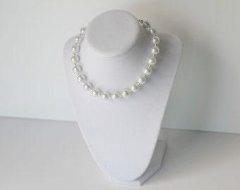 Newborn Pearl Necklace - Newborn Photo Prop - Necklace - Newborn Necklace
