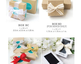 Gift Box and custom card only
