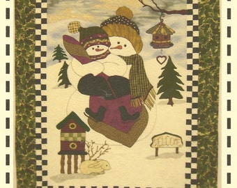Snow Family Quilt Pattern