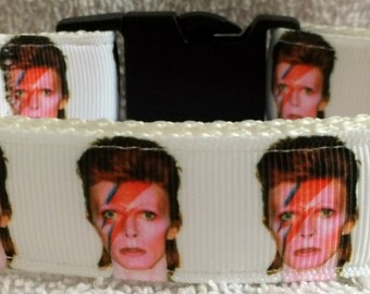 david bowie dog collar