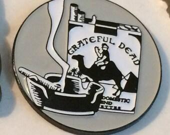 Grateful Dead - Egypt Tour Hand Signed Gary Kroman Relix Hat Pin