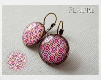 "Earrings ""Peps seventies"""