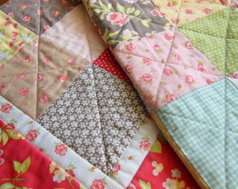 Strawberry Fields Baby Quilt