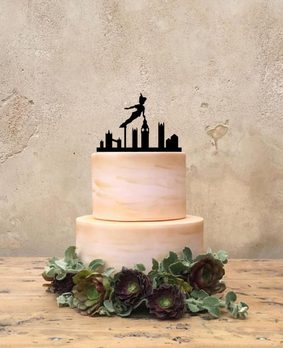 Peter pan custom cake topper