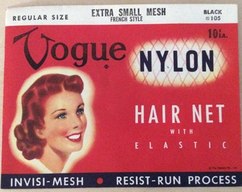 Vogue Nylon mesh hair net NEW