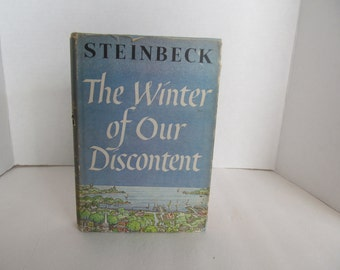 John Steinbeck -First Edition-The Winter of Our Discontent