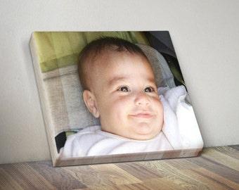 Custom Photo on Wood Photo Print, Picture on Wood Photo Block, Personalized Wood Photo, Custom Photo Gift, Photo Keepsake Gift, 7X7 Inches