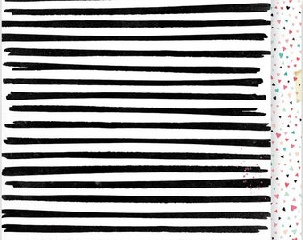Zebra Hearts Traveler's Notebook Insert