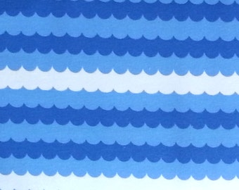Jersey Waves 150cm, 95 percent Cotton 5 percent Elastane