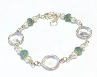 Green Bead Bracelet, Green Bead Bracelets, Green Bracelet, Green Bracelets, Turquoise Bead Bracelets, Green Bead Bracelet