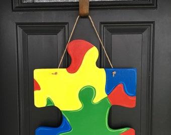 Autism Awareness doorhang