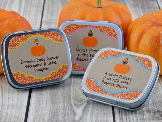 Baby Shower Favors Little Pumpkin ~ Little pumpkin baby shower favors fall by partyfavorsbydesign