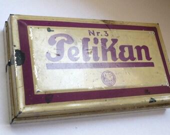 Vintage Pelikan ink pad Nr 3