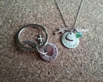 Memory Necklace, keychain, bracelet