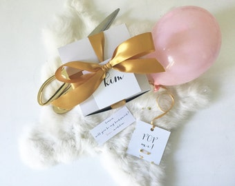 Will you be my Bridesmaid? How to ask your bridesmaids/flower girl/maid of honor/ring bearer party gift box