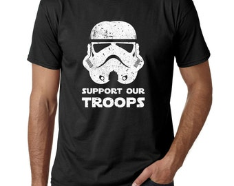 Star Wars Stormtrooper Support Our Troops Shirt