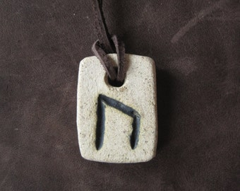 Uruz rune necklace-amulet of health and strenght