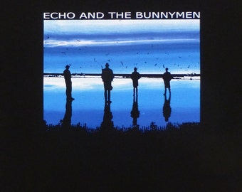 Echo and the Bunnymen t shirt Heaven Up Here S, M, L, XL