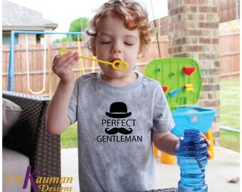 Perfect Gentleman Toddler T-Shirt for boys