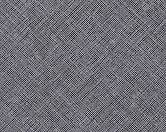Architextures - Crosshatch Charcoal - Carolyn Friedlander - Robert Kaufman (AFR-13503-184)