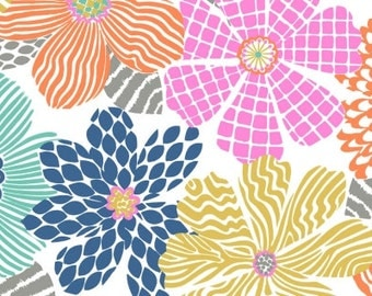 Junebug - Floral Texture in Multi - Dear Stella (STELLA-547)