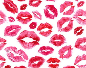 Red Lips Photography Backdrop, Newborns Photoshoot background, Lips pattern photography backdrops D-3514