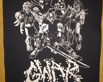 Gwar Cloth Back Patch
