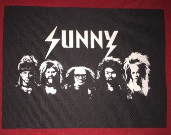 Always Sunny In Philadelphia Cloth Punk Patch
