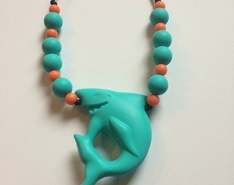 Chompy Shark Pendant-Medium