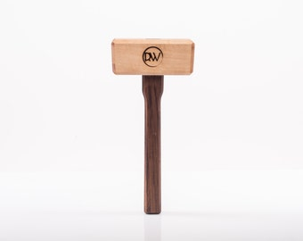 Hard Maple & Walnut Wood Working Mallet