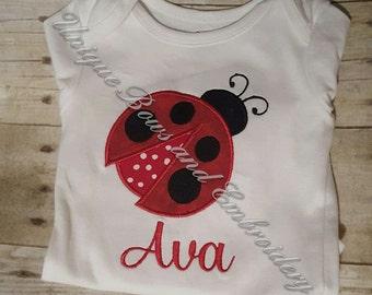 Personalized Ladybug Shirt ~ Ladybug Shirt