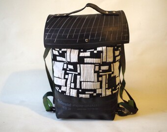 Rucksack with flap