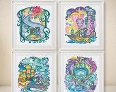 20% OFF SUMMER SALES Beauty and the Beast  +Rapunzel +Aladdin +Cinderella -Modern Cross Stitch -Disney Princess Pattern -Disney Character  -