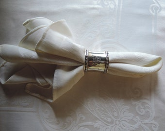 An Etched Napkin Ring