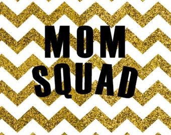 Mom Squad SVG