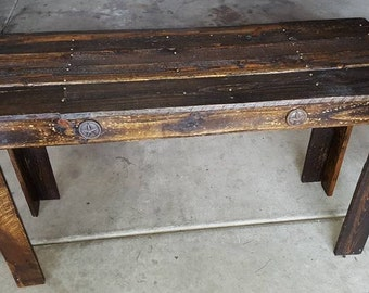 pallet buffet table