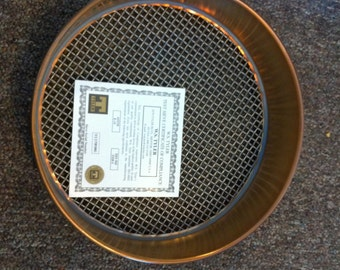Hogentogler & Co. Brass Sieve With Skirt