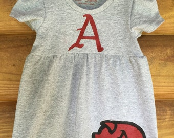 Arkansas Razorbacks Baby and Toddler Gameday Dress