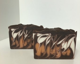 Orange Chocolate   Soap / Artisan Soap / Handmade Soap / Soap / Cold Process Soap