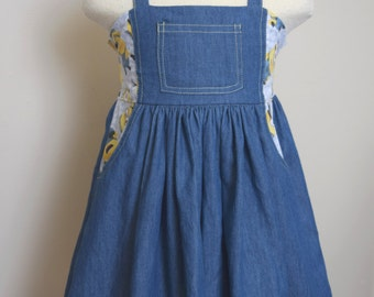 Girls Minion Dress Size 3, Birthday Party Dress