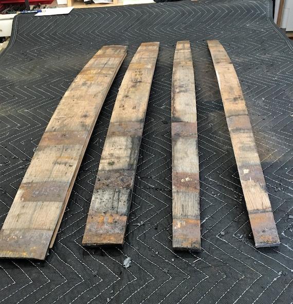 how to make oak barrel staves