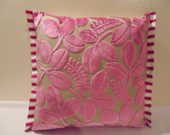 Designers Guild Fabric Calaggio Peony Cushion Cover  / pillow